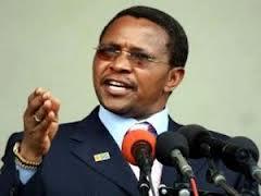 Rais wa Jamhuri ya muungano Tanzania Jakaya Kikwete