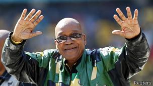 Rais wa AFrika ya Kusini Jacob Zuma